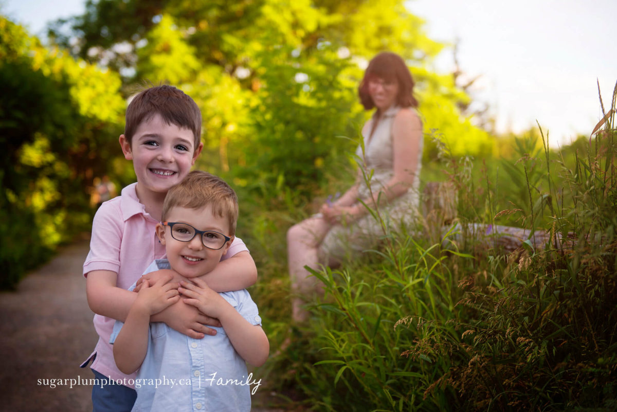 Summer solstice outdoor family session